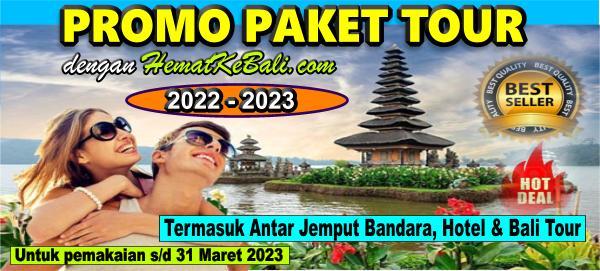 Promo Paket Tour Bali 4D3N & 3D2N