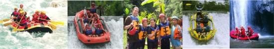 Rafting Activity Bali Program